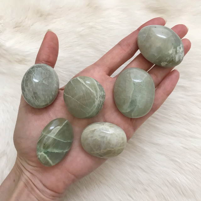 green moonstones